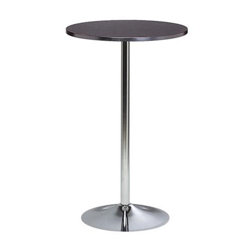 BT-01B 黑色电镀喇叭腿吧桌