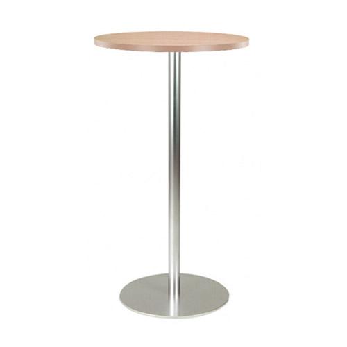 BT-03WD 木纹面银色喷涂腿吧桌