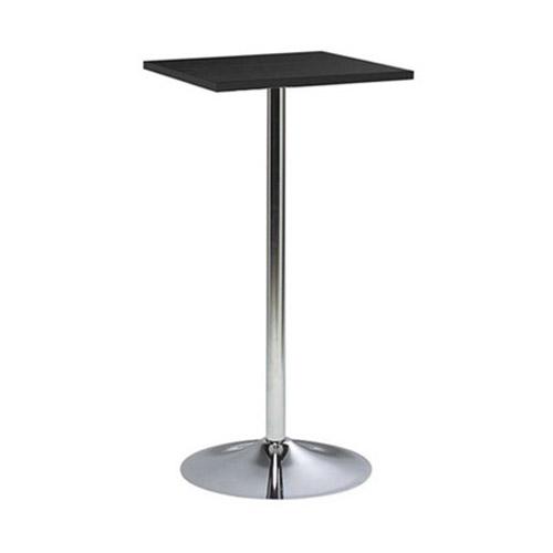 BT-05B 黑色电镀喇叭腿方形吧桌