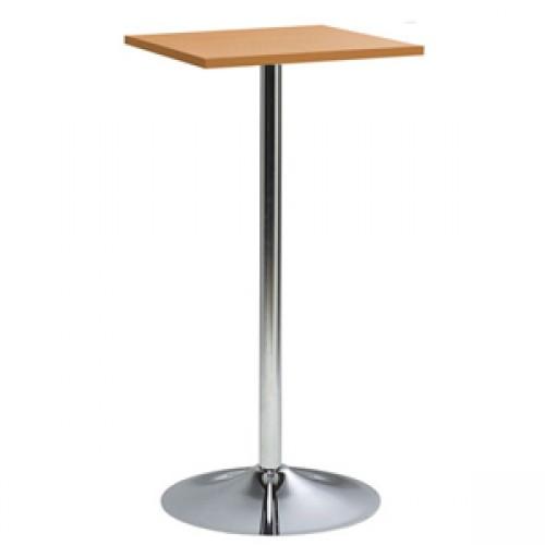 BT-05WD 木纹面电镀喇叭腿方形吧桌