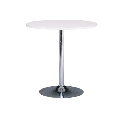 MT-01W 白色电镀底座洽谈桌