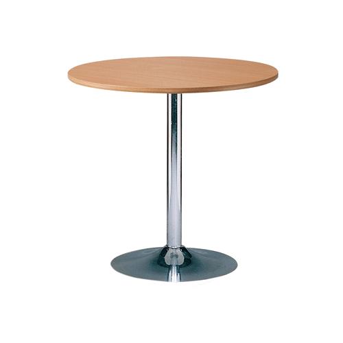 MT-01WD 木色电镀底座洽谈桌