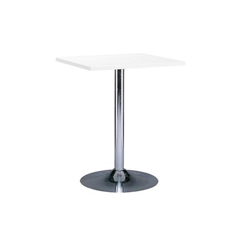 MT-05W 白色电镀底座方面洽谈桌