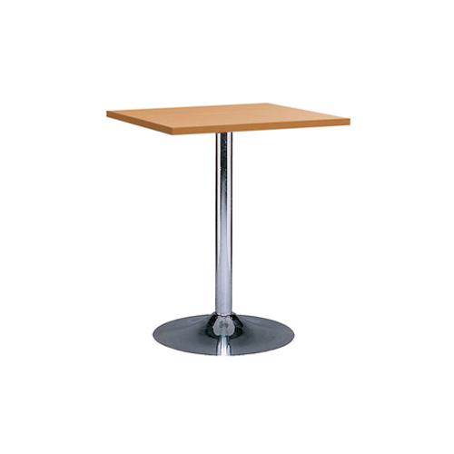 MT-05WD 木色电镀底座方面洽谈桌