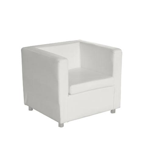 SF-066W 白色单人沙发