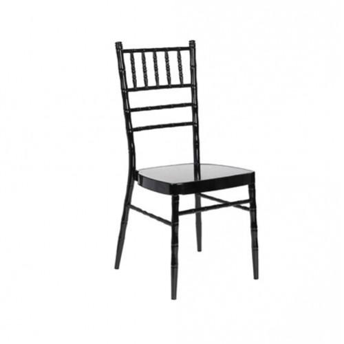 SC-015B 黑色竹节椅