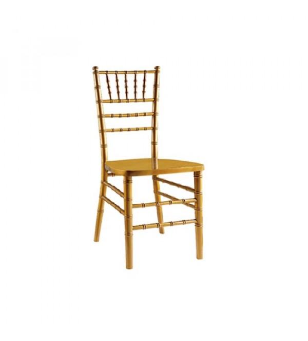 SC-015GD 金色竹节椅