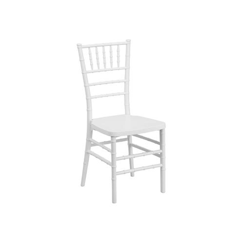 SC-015W 白色竹节椅