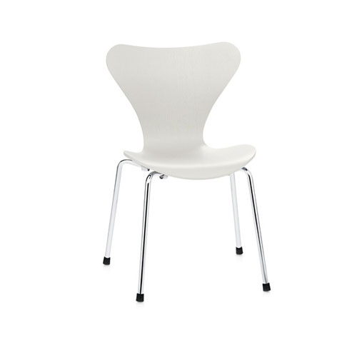 SC-02W 白色倒三角椅