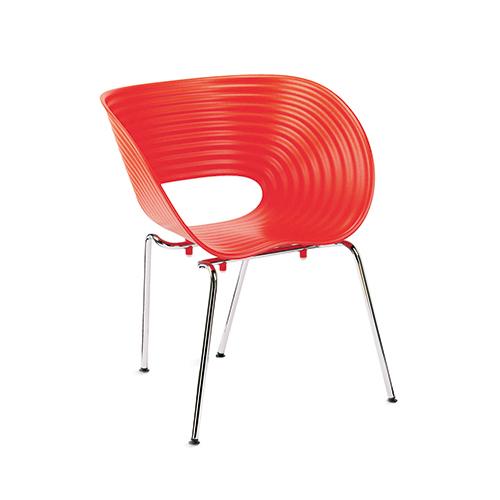 SC-020R 红色贝壳椅