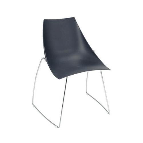 SC-07B 黑色滑梯椅