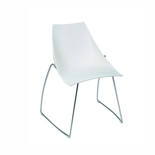 SC-07W 白色滑梯椅