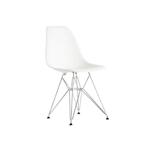 SC-074W 金属脚白色伊姆斯椅