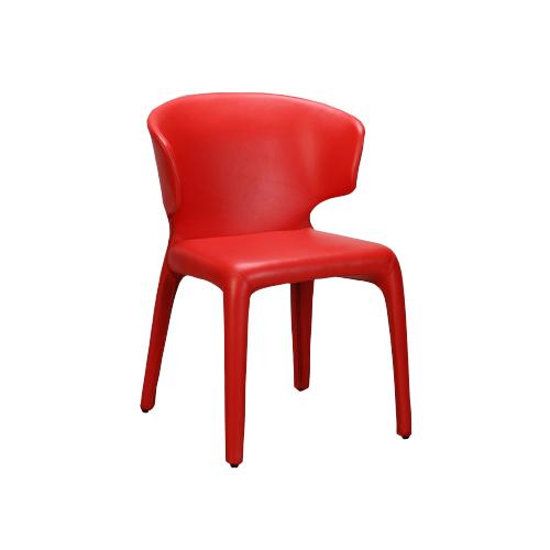 SC-079R 红色皮椅