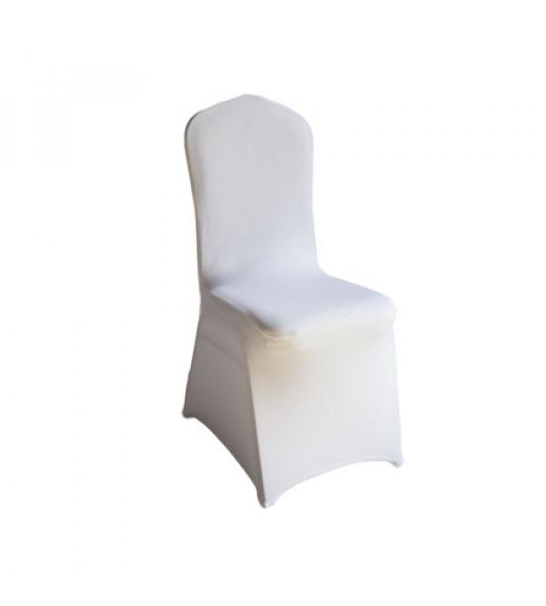 SC-080W 白色弹力布套餐椅