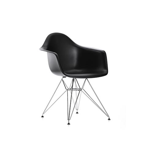 SC-083B 金属脚黑色伊姆斯扶手椅