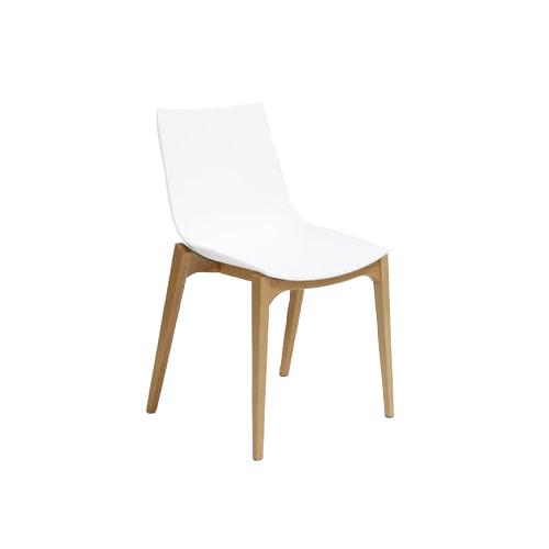 SC-091W 白色塑料椅