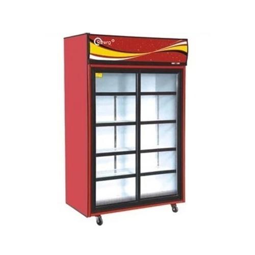 E-BX-011 立式推拉双门冷藏展示柜