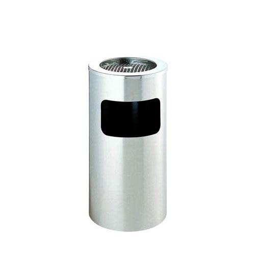 M-AS-01S 不锈钢带烟灰缸垃圾桶