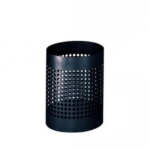 M-TB-03B 黑色喷涂垃圾桶