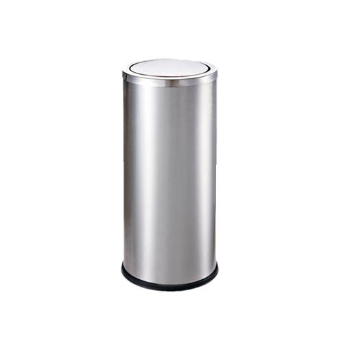 M-TB-05S 银色摇盖垃圾桶
