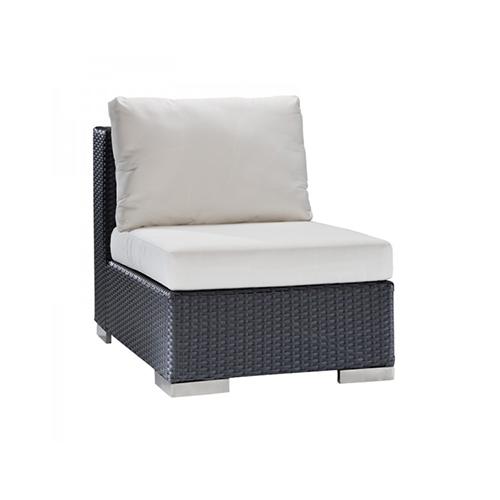 HW-SS-02 户外藤制无扶手单人沙发